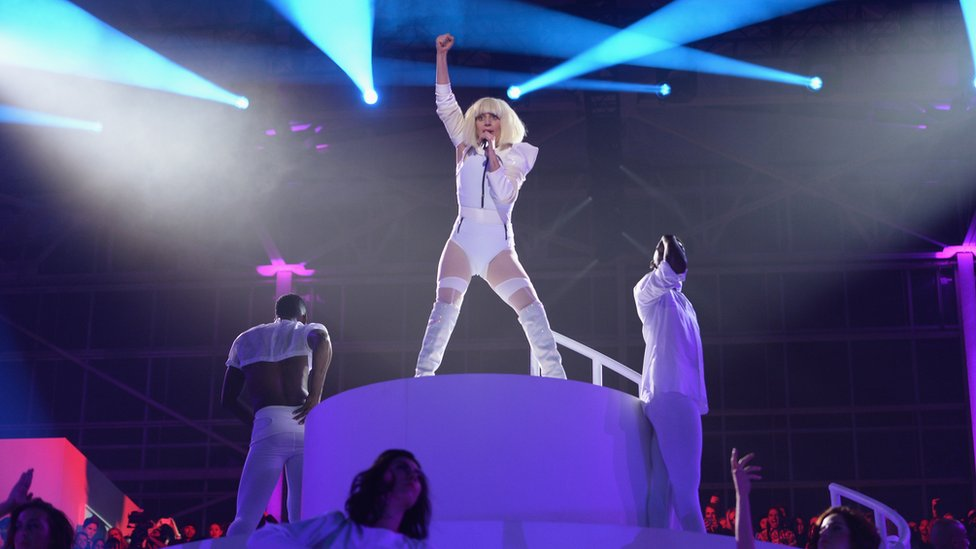 Lady Gaga in concert, New York 2013