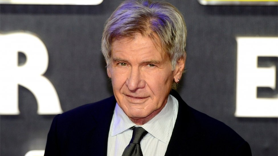 Star Wars firm admits charges over Harrison Ford leg break