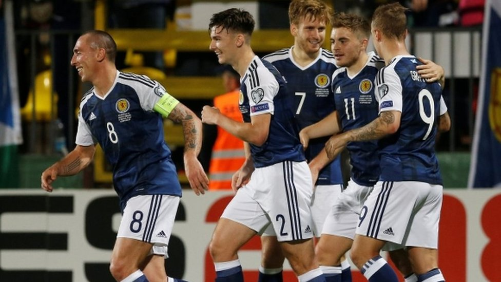 Resultado de imagen para Lituania 0 - 3 Escocia 2017