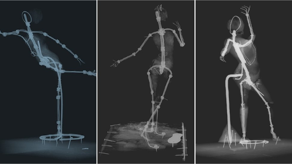 X-rays of rare Degas sculptures reveal artist's secrets