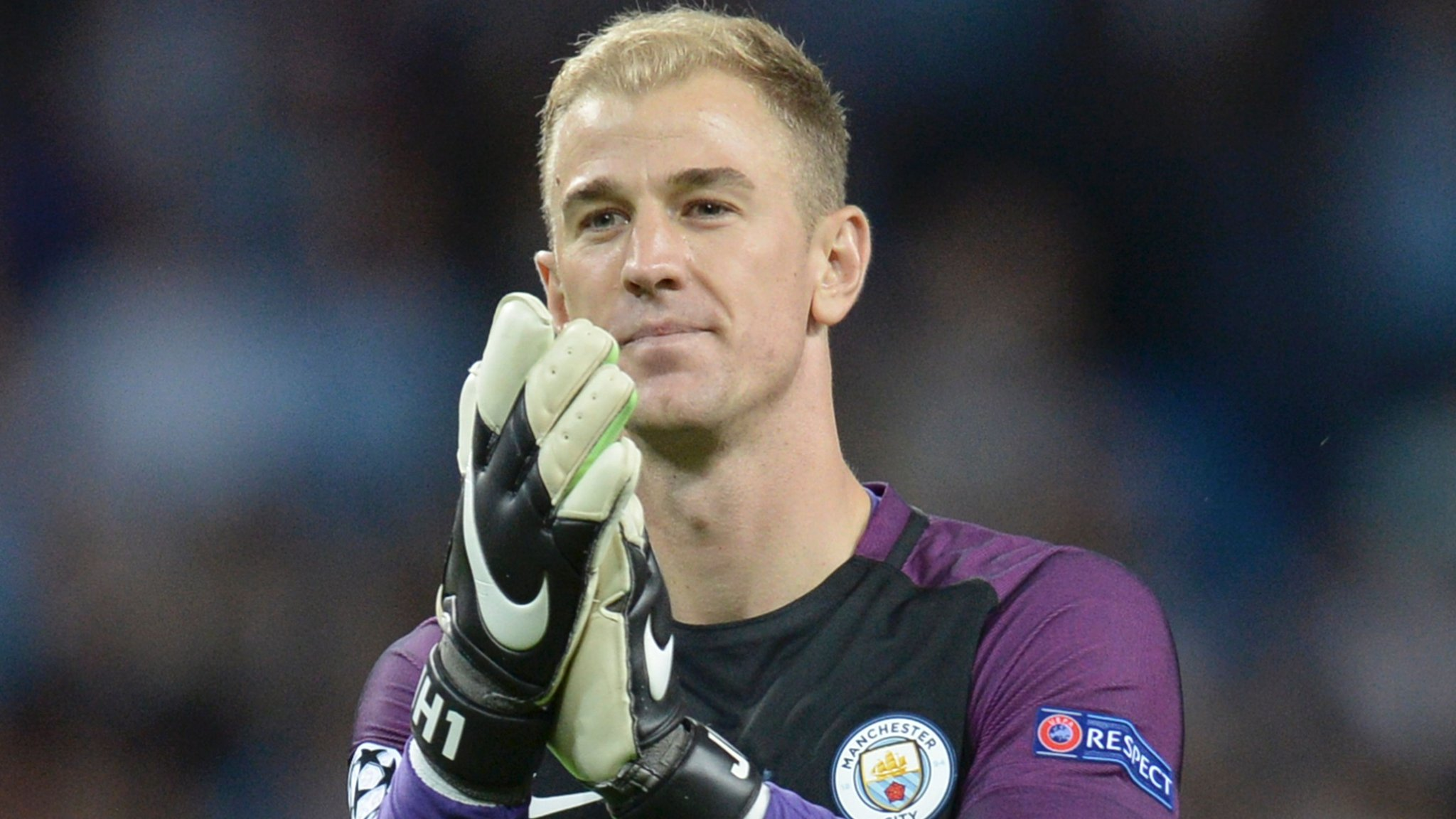 Hart hails 'special night' as Man City ease into group stage