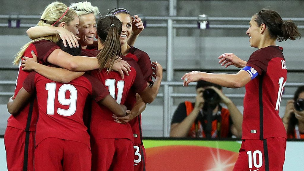 SheBelieves Cup highlights: USA women 1-0 England women