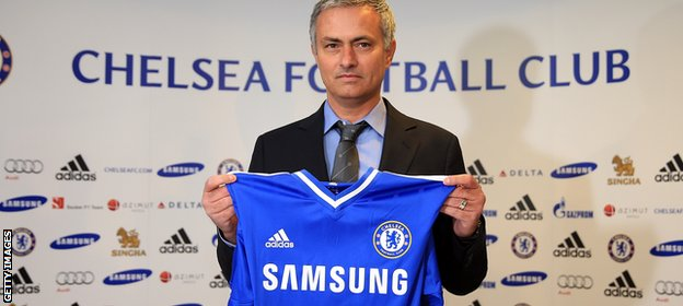 Jose Mourinho took charge of Chelsea for a second time in 2013
