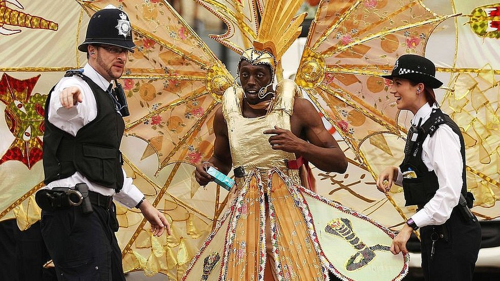 In pictures: Fifty years of the Notting Hill Carnival