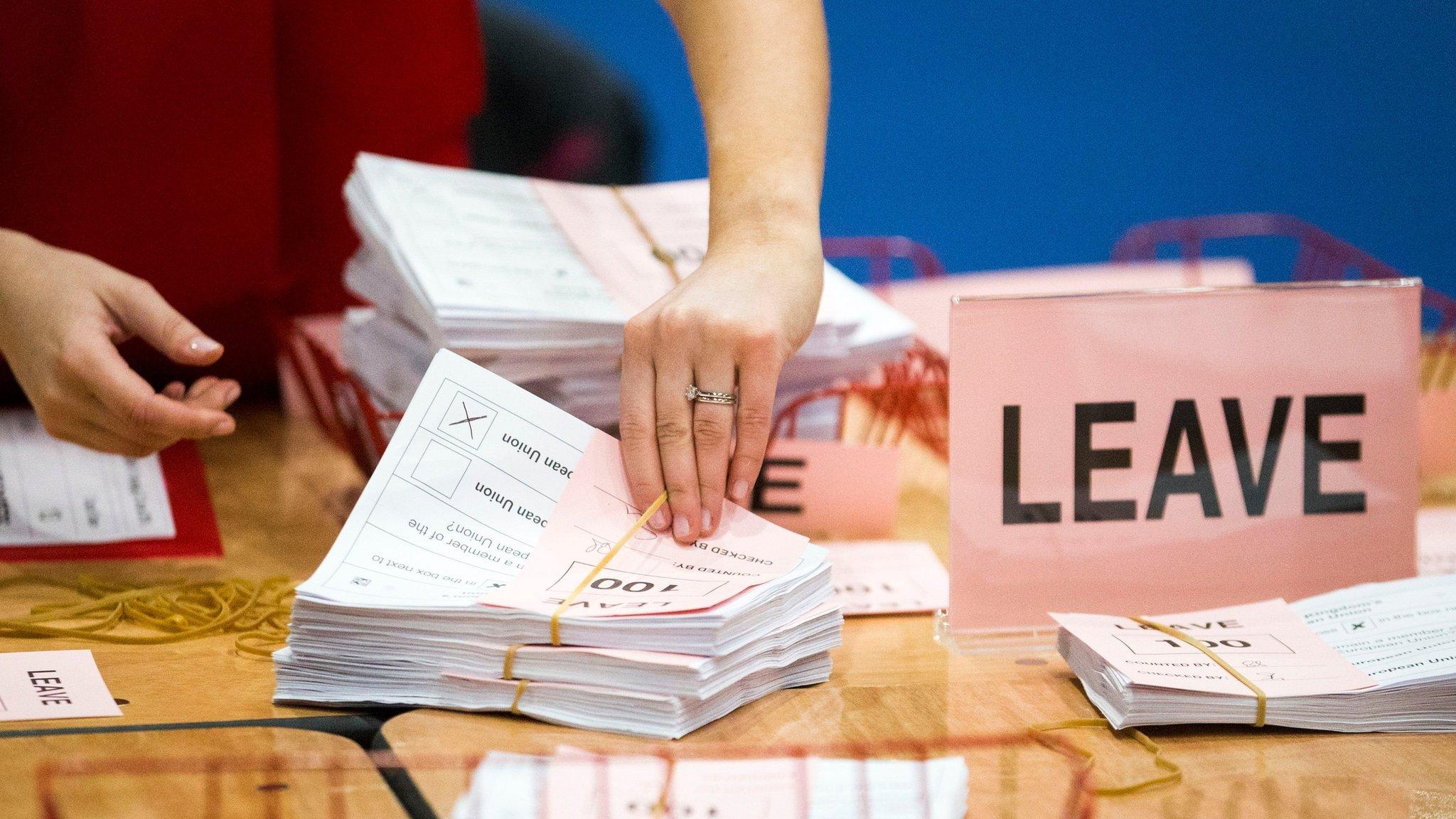 Brexit: UK votes to leave EU in historic referendum