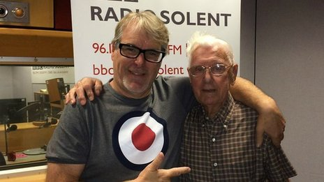 Alex Dyke and Bill Palmer