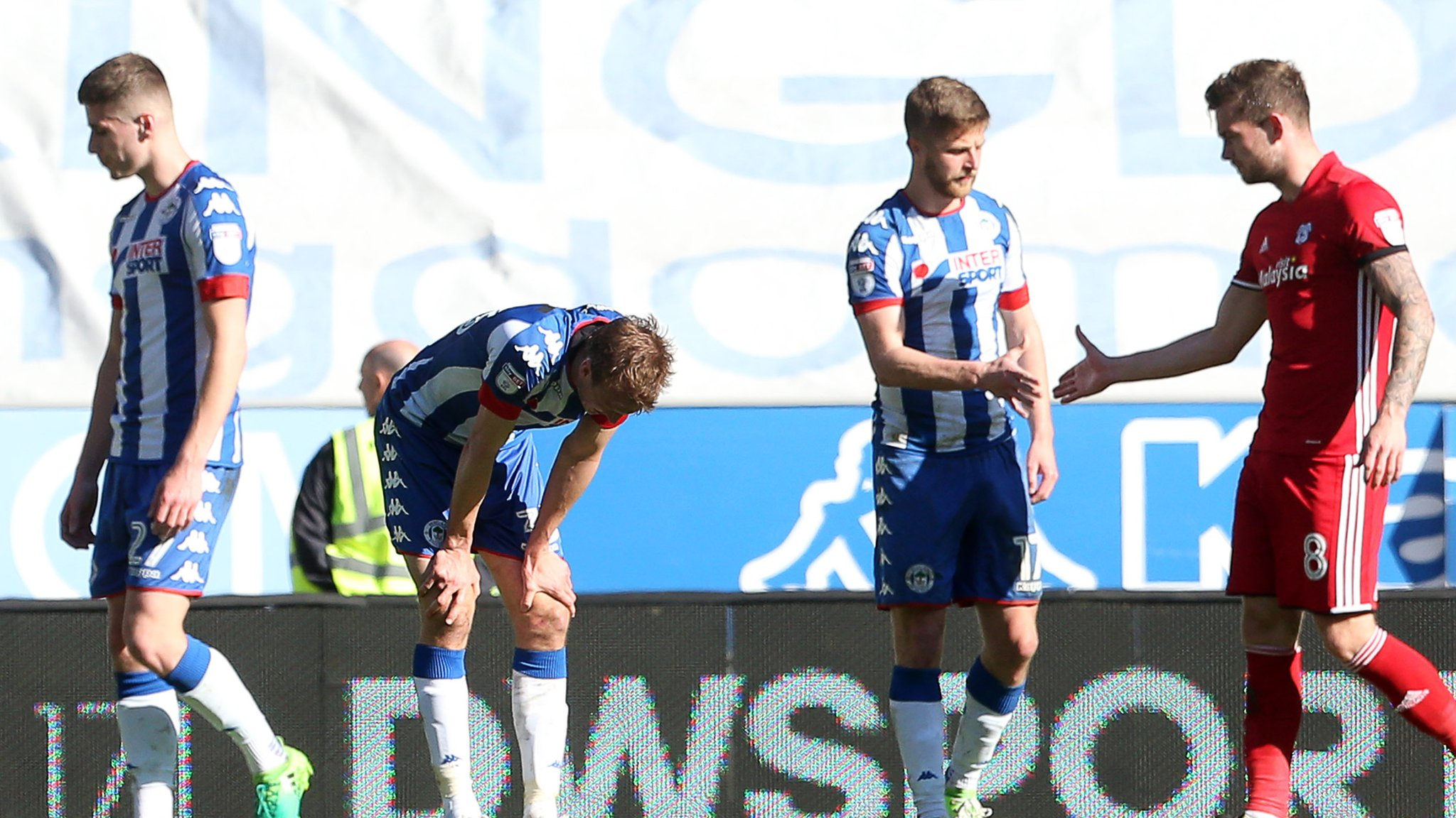<![CDATA[Wigan relegated to League One after loss]]>