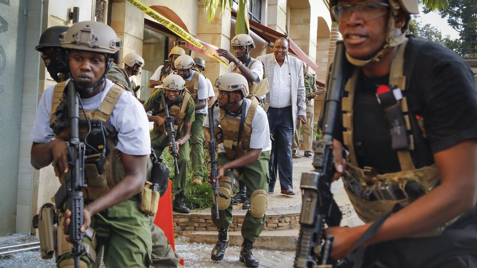 Andrew Harding: Relief replaces fear after Kenya attack