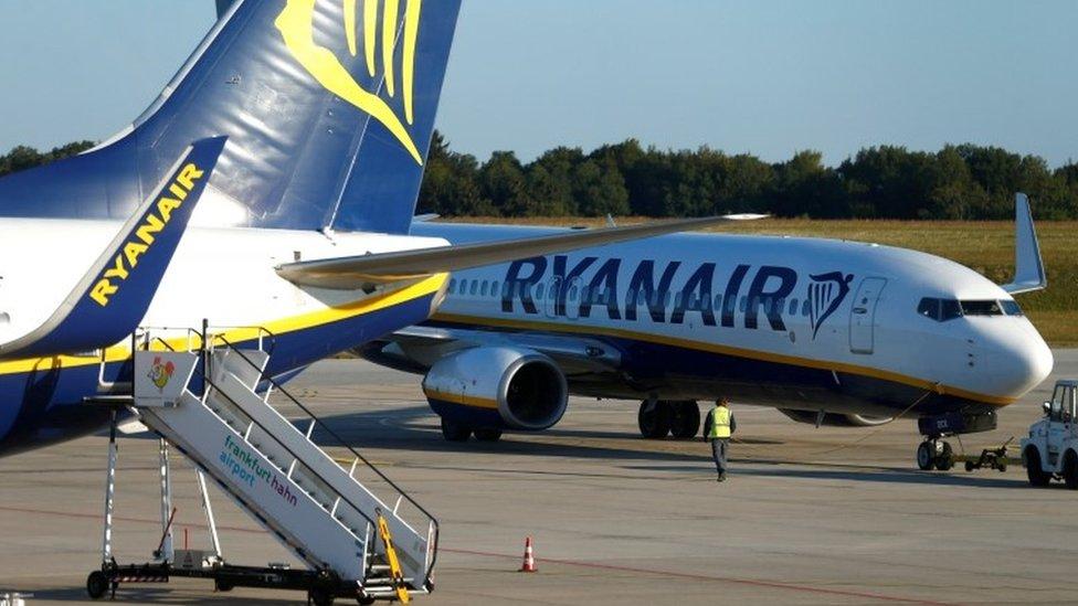 Ryanair issues profit warning as fares fall