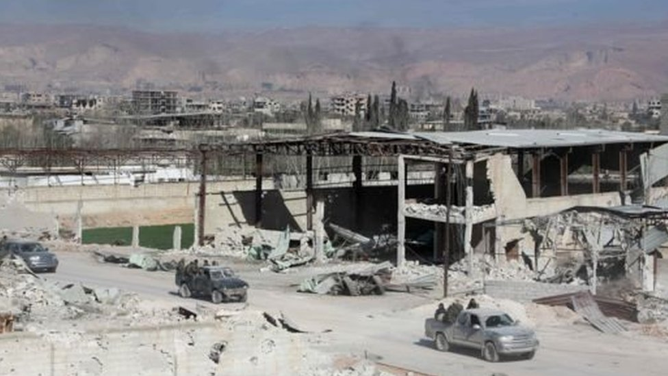 قوات الأسد تتقدم داخل الغوطة