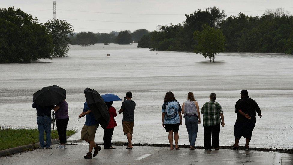 Inundación por Harvey