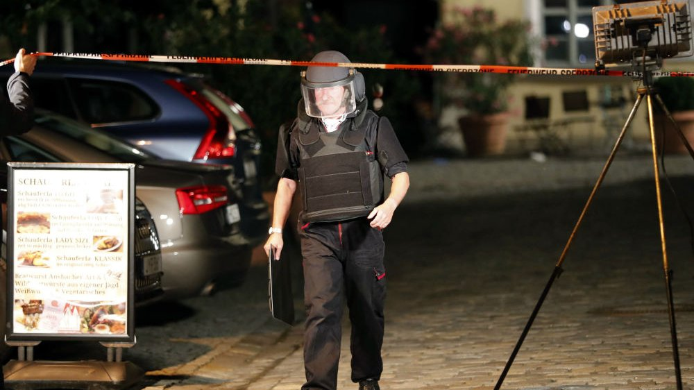 Ansbach explosion: Syrian asylum seeker killed by own bomb
