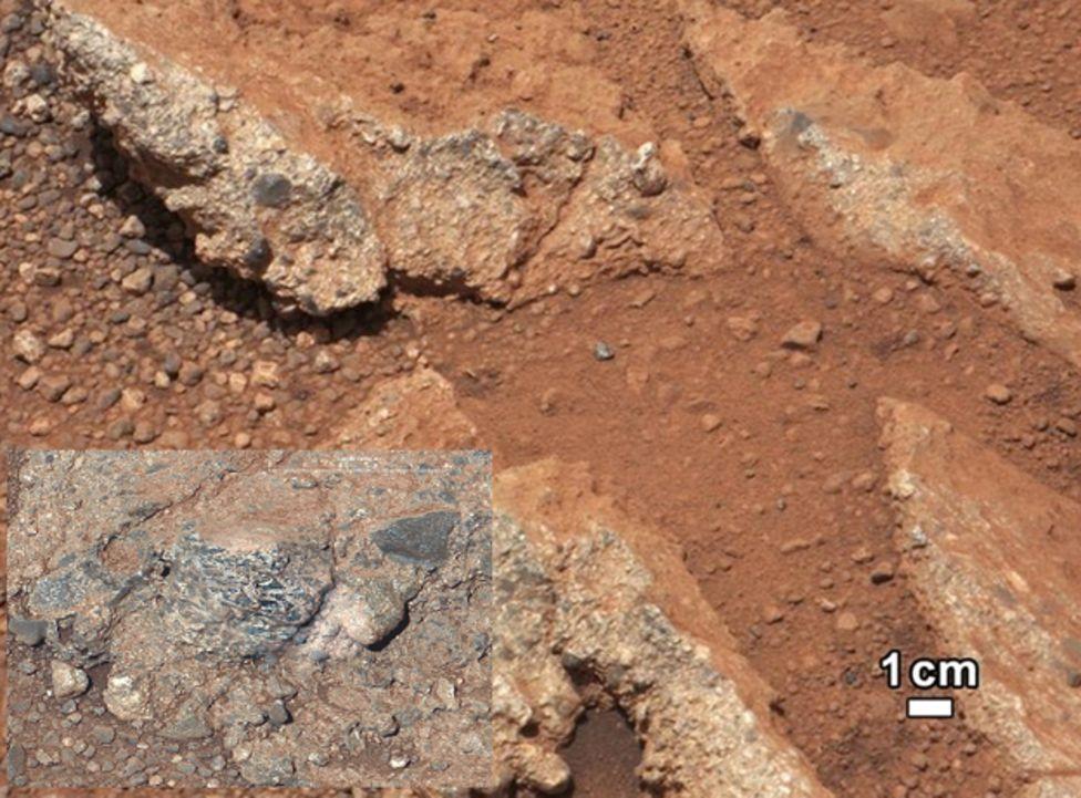 Rocas marcianas