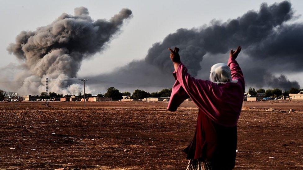 Bombardeo de Estados Unidos en Siria.
