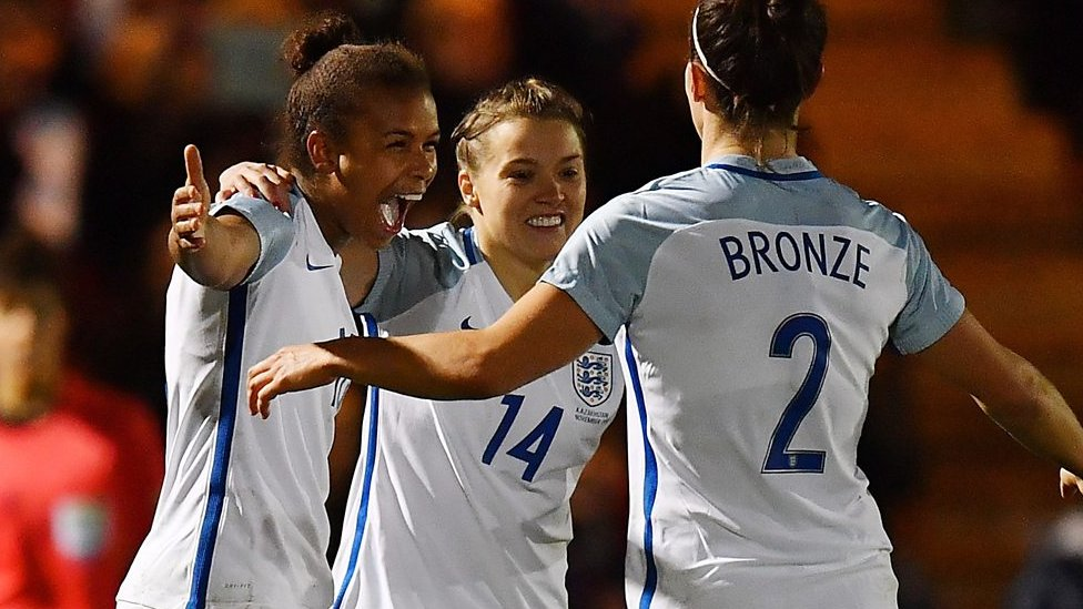 England thrash Kazakhstan to maintain perfect start