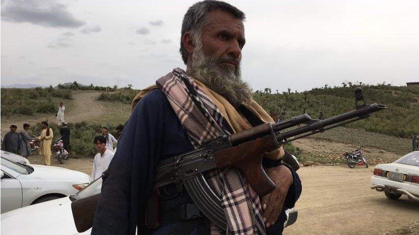 خوست کې د افغان او پاکستاني ځواکونو جګړه: انځورونه