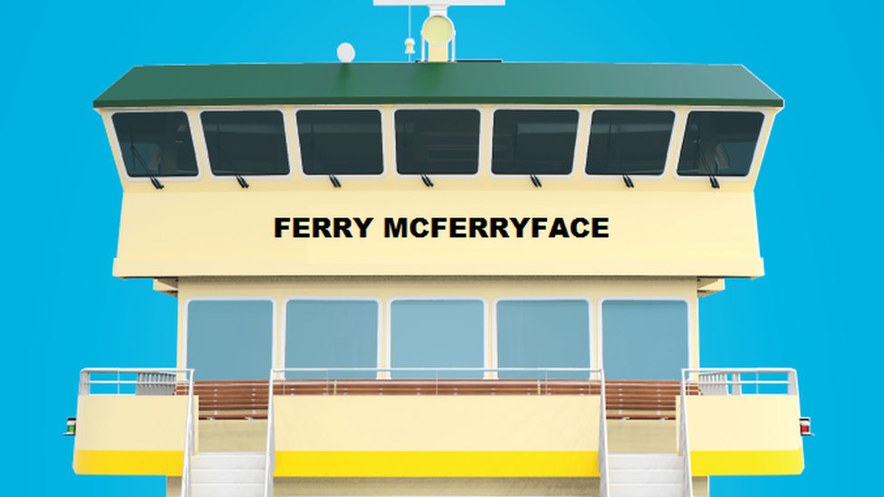 Sydney ferry named Ferry McFerryface after public poll