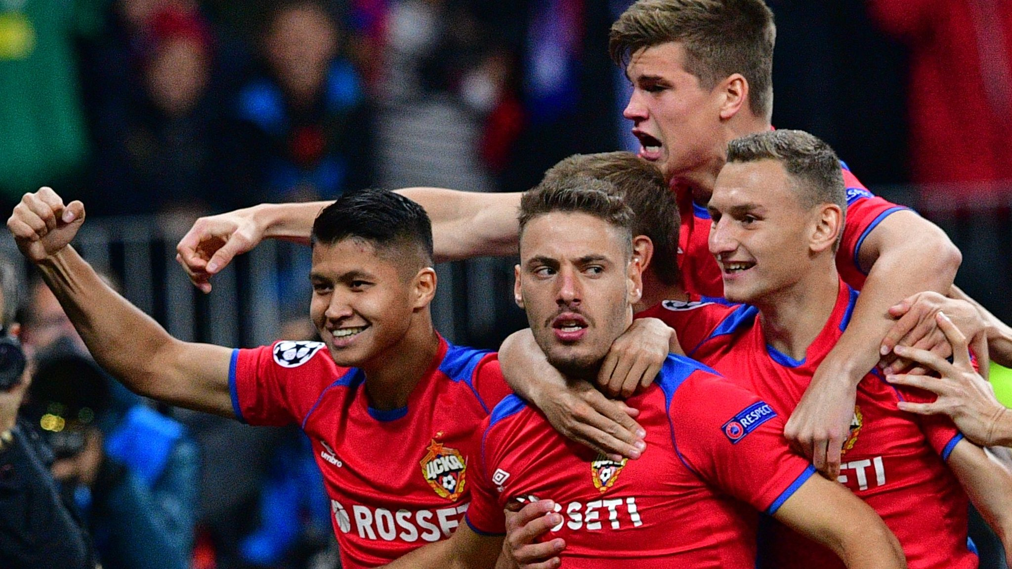 CSKA Moscow 1-0 Real Madrid: European champions beaten in Russia