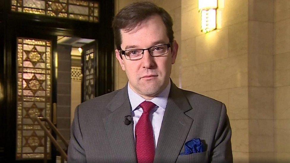 دكتور ديفيد ستيبلز الرئيس التنفيذي للمحفل الماسوني استضافه برنامج الصباح في بي بي سي