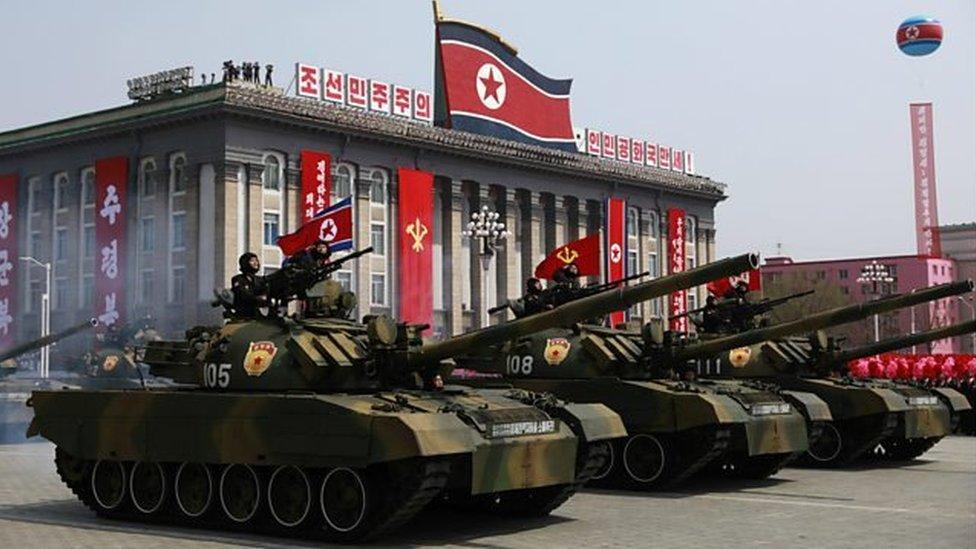 不過對於朝鮮閲兵