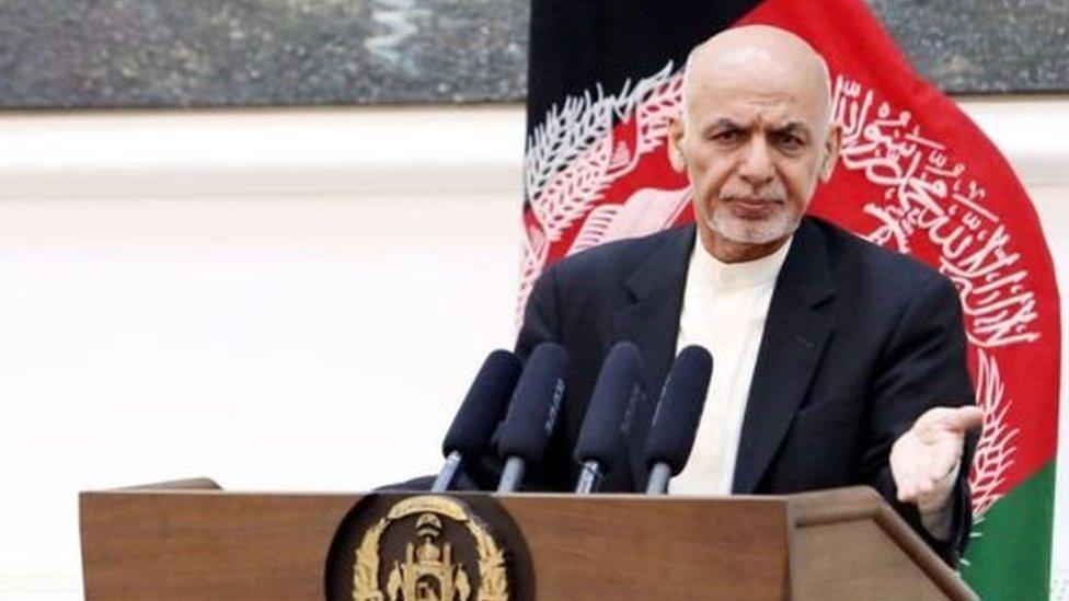 'ولسمشر غني د امنیتي ادارو له مشرانو استعفا غوښتې'