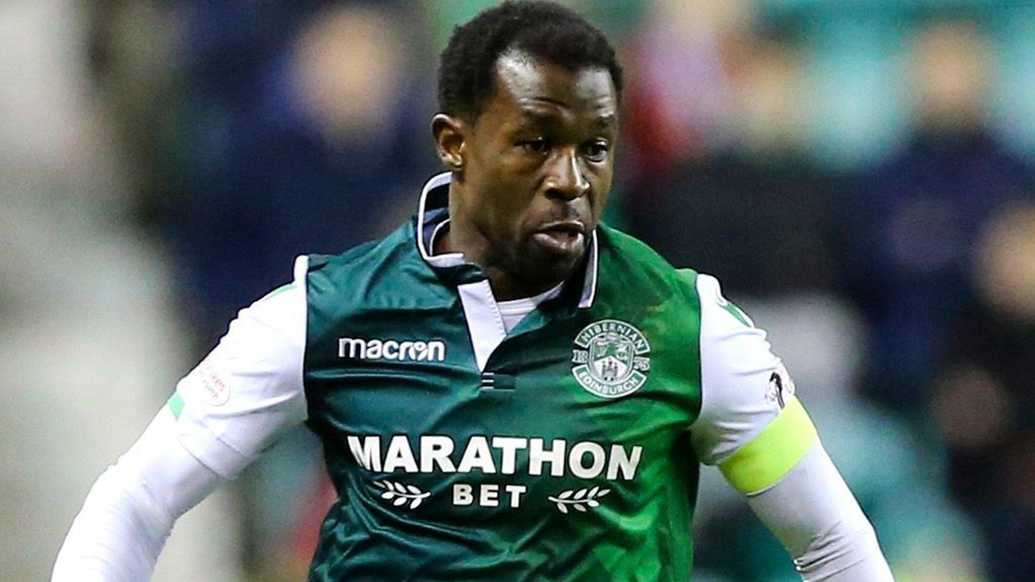 Efe Ambrose: Derby County complete deal for former Hibernian defender