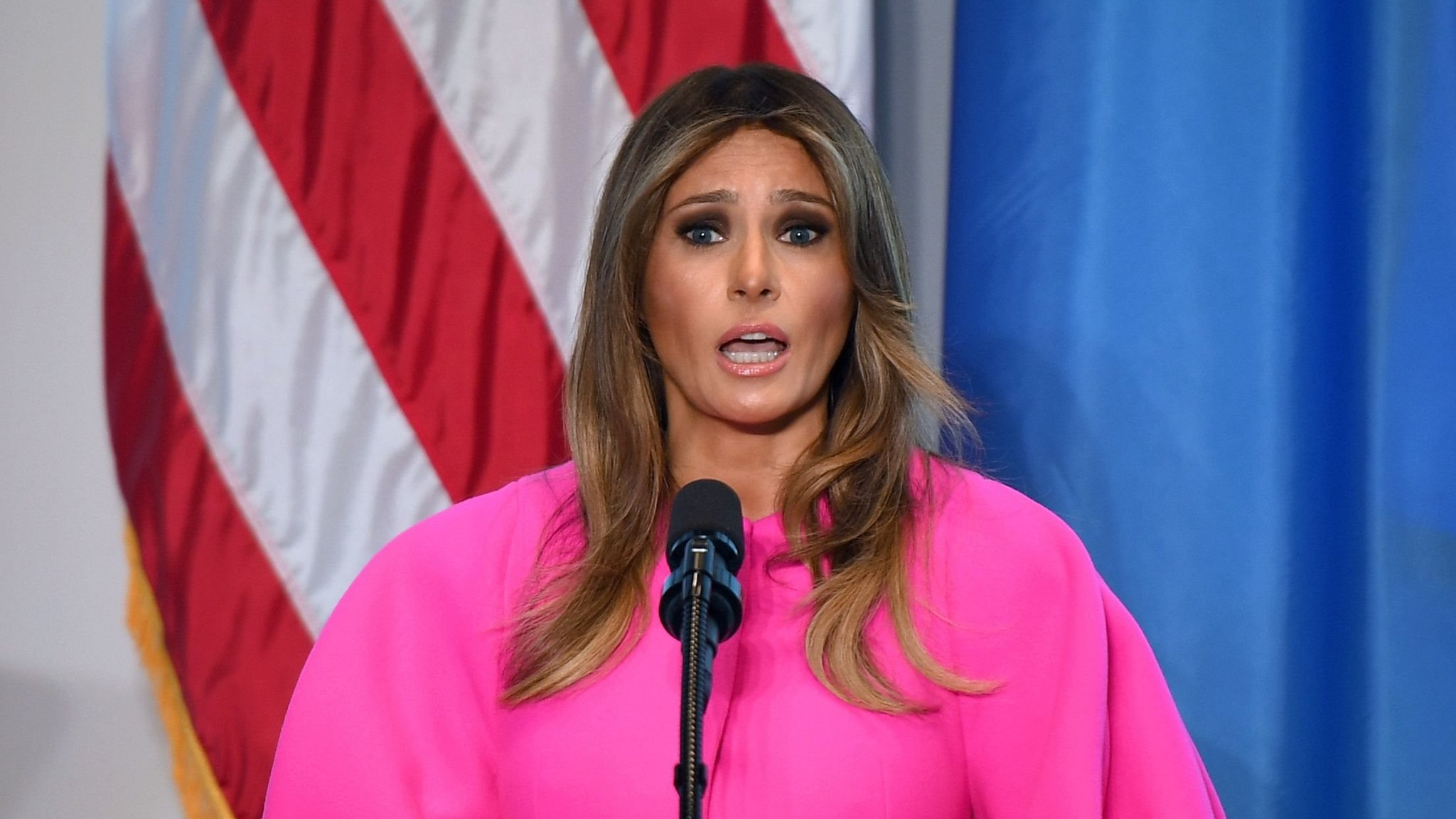 Меланию Трамп критикуют после речи о кибер-буллинге