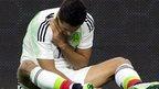 Striker Hernandez breaks collarbone
