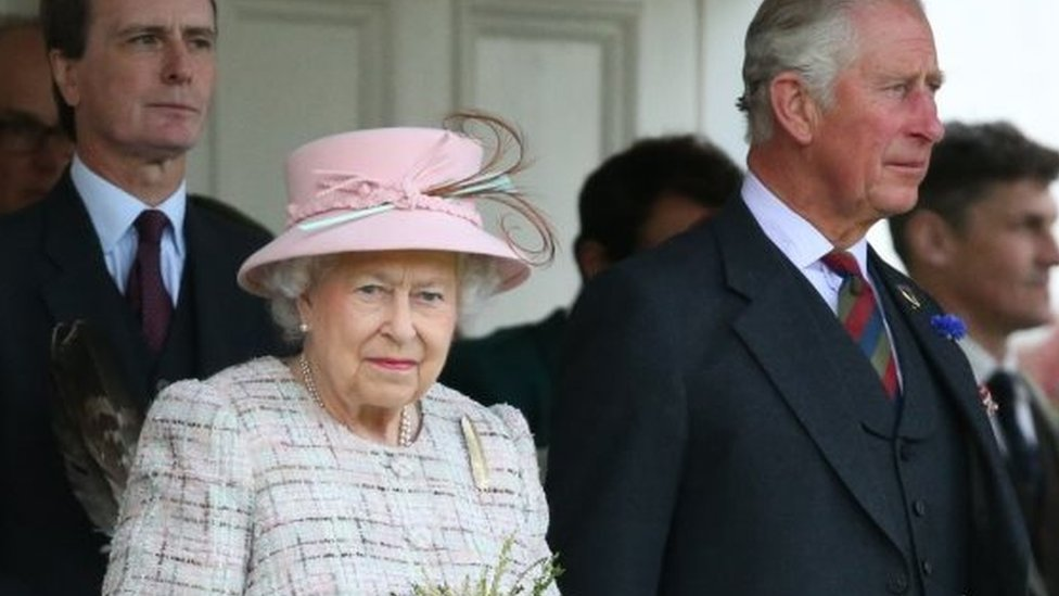 女王和長子威爾士親王