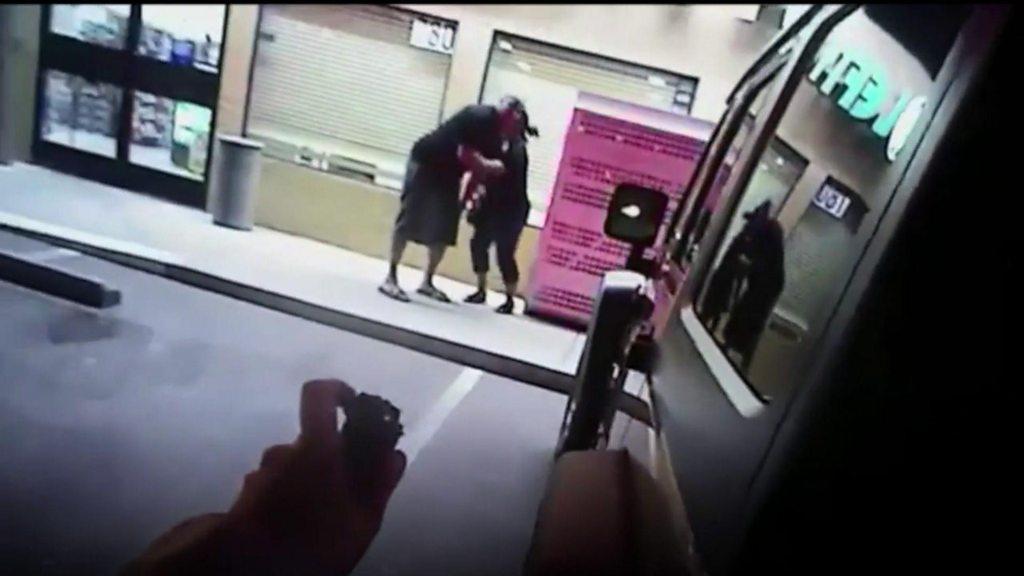 Bodycam footage shows deadly Las Vegas police confrontation
