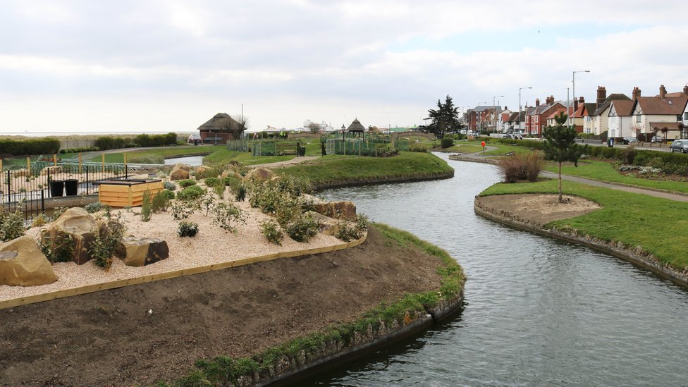 Great Yarmouth's Venetian Waterways reopens after revamp