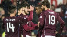 Hearts are unbeaten in their last eight games