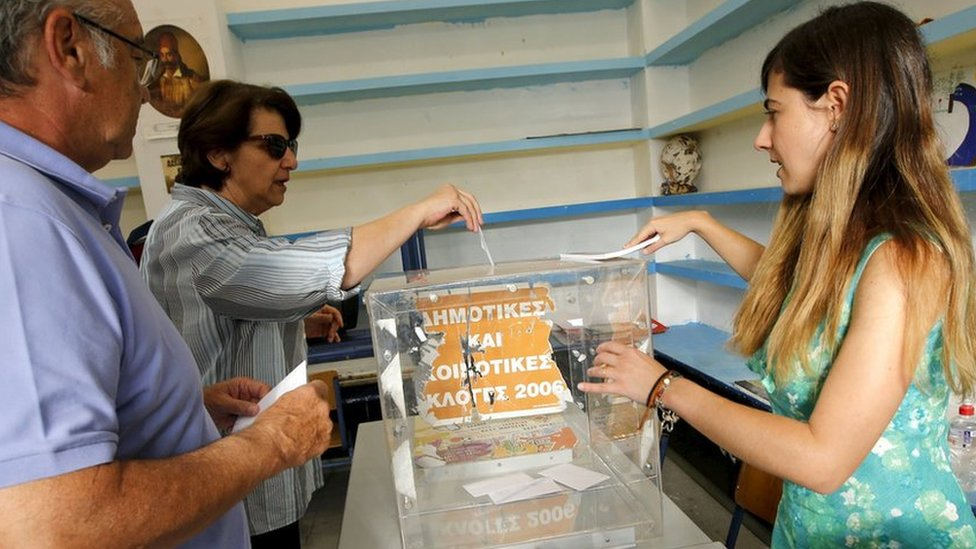 Millions of Greeks are voting in a crucial referendum on whether to accept the terms of an international bailout.