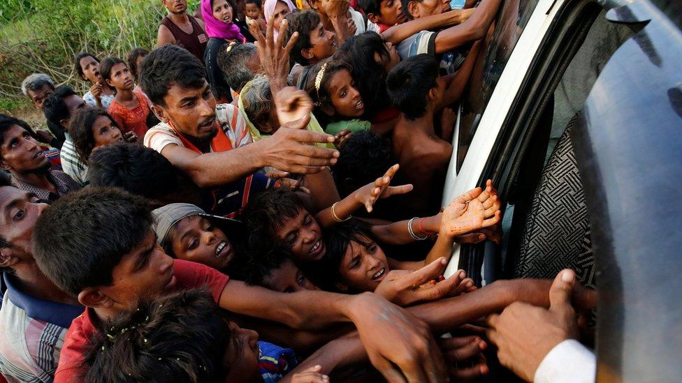 نازحو الروهينجا في بنغلاديش