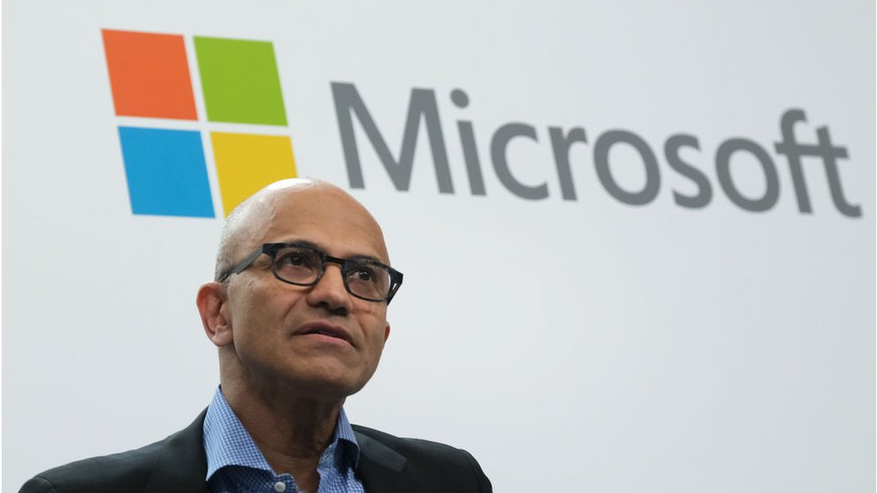 Microsoft hits $1 trillion market valuation