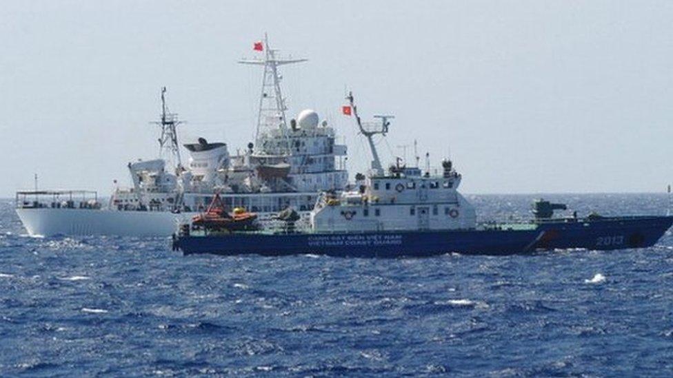 Việt Nam 'bỏ dự án Cá Rồng Đỏ' ở Biển Đông