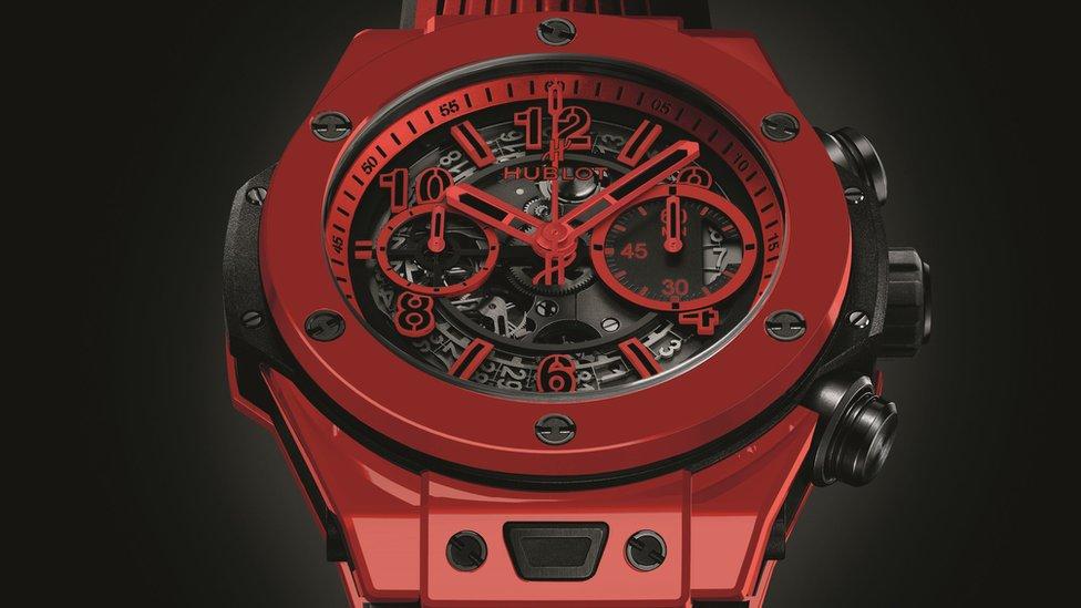 Hublot Red Magic watch