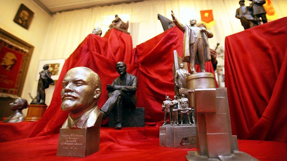 Museo en Lenin en Tampere.