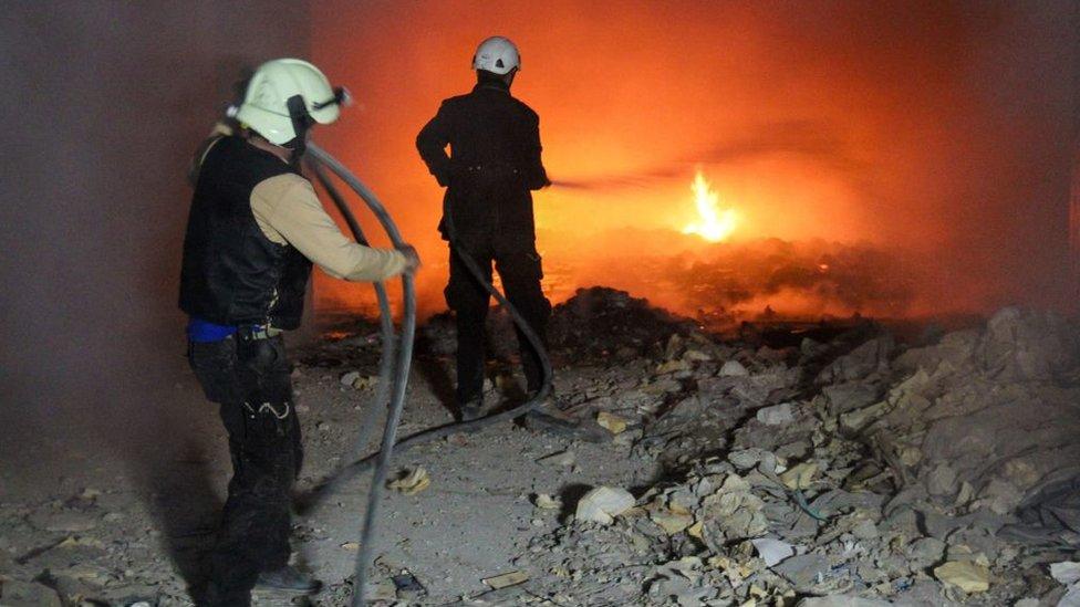 При авиаударе по тюрьме в Сирии погибли 16 человек