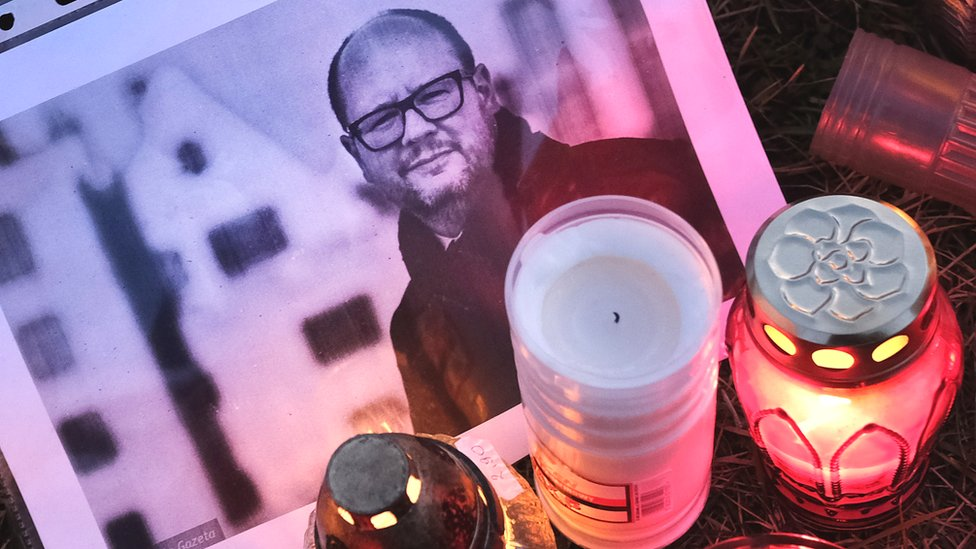 newest 2e211 34aca Pawel Adamowicz  Poland mourns death of stabbed Gdansk mayor - Pawel  Adamowicz was stabbed to death last Sunday in an attack that has shocked  Poland.