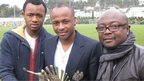 Jordan and Andrew Ayew with father Abedi 'Pele'