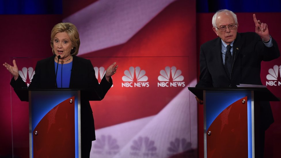 Clinton v Sanders: The rhetoric and the stakes rise