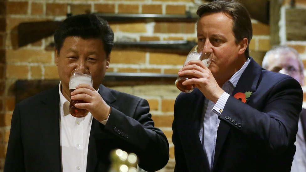 Former PM takes on UK-China investment role