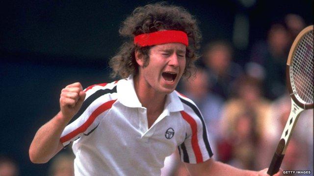 John McEnroe's famous rant