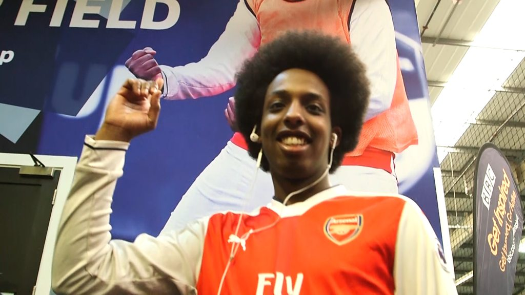 FA People's Cup Finals: Arsenal fan's amazing day