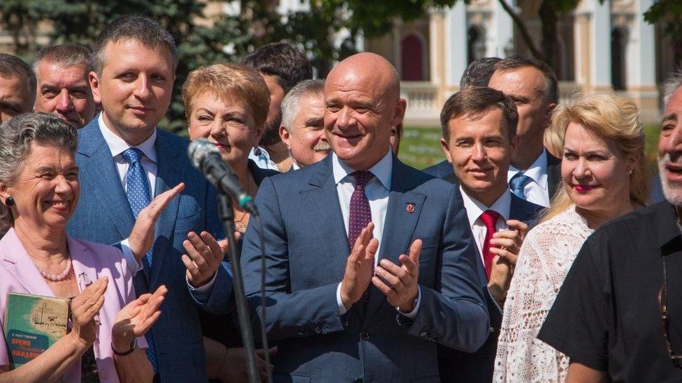 Мера Труханова затримали у
