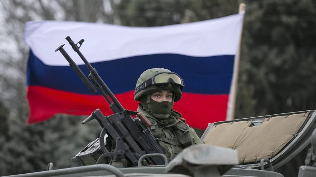 Finding elite Russian troops during 2014 Crimea annexation