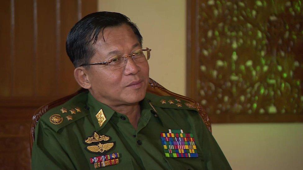 緬甸政府軍總司令敏昂萊
