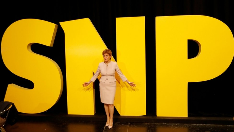 Sturgeon: SNP offer 'hope and optimism'