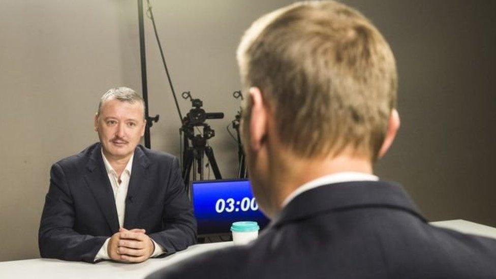 Дебати Стрєлкова з Навальним: